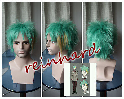 Death Parade-Clavis cosplay anime Full Wig