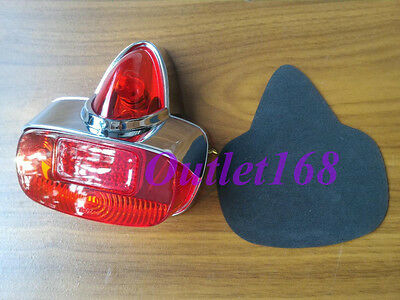 Piaggio Vespa 125 150 VNA VNB VBA VBB GS 160 VS5 Rear Light Tail Lamp Acorn 6V