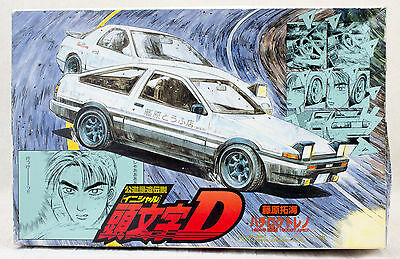Initial D Plastic Model kit Toyota Sprinter AE86 1600GT 1/24 Scale JAPAN ANIME