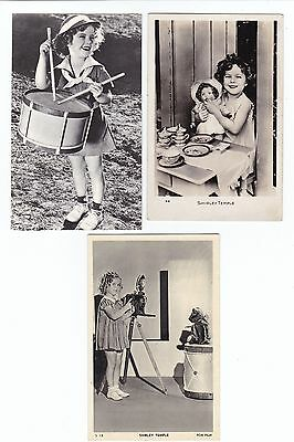 SHIRLEY TEMPLE   5 x Vintage MOVIE STAR  postcards