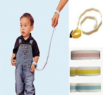Dreambaby Wrist Buddy Baby & Toddler Harness Walking Safety Strap 3 Colours