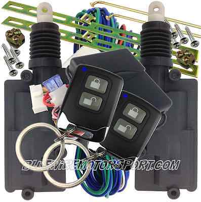 Heavy Duty  2 Door Central Power Locking Kit + Keyless Entry