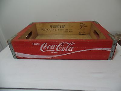 Original Vintage Coca Cola Bottling Company Wooden Crate