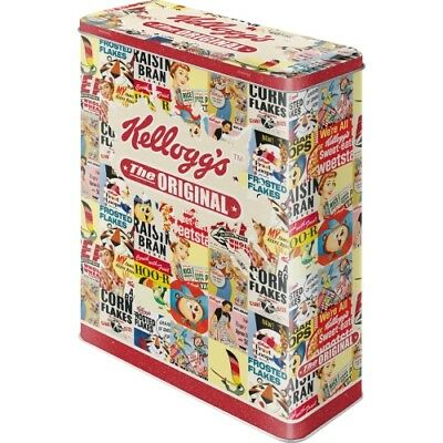 Nostalgic Art Vorratsdose XL Kellogg´s The Original Collage Blechdose
