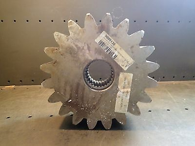 Pinion Gear: EM1040/MN EM1046/MN M=1 0 Z=20 X=0.5 B=80 H=80, Used Good Condition