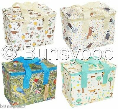 Animal Insulated Lunch Bag Birds Parrot Cool Bags Office Kids Back to School