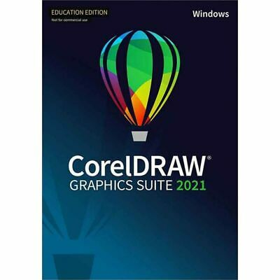 Corel Draw Graphics Suite 2019 for Windows **NEW** Academic DVD Box
