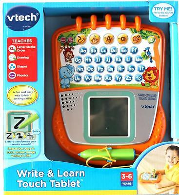 VTech Write & Learn Touch Tablet  Kids Educational Toy 3+ Years New