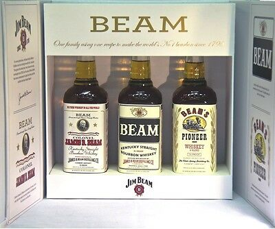 Jim Beam Historic Set - Not for Retail Edition  3 x 700ml Very Rare