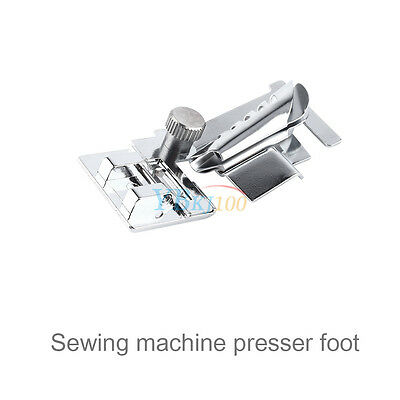 1pc Snap-on Bias Tape Binder Metal Foot For Brother Singer Janome Sewing Machine