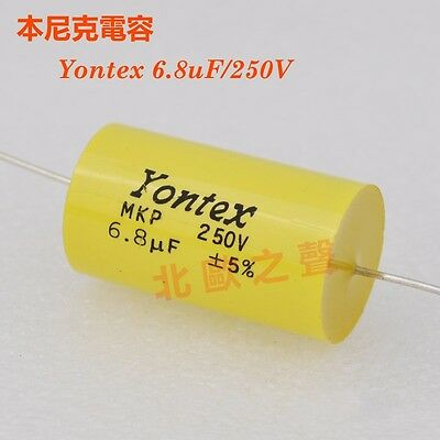 2P For YONTEX 250V 1.8uF Audio Speaker Divider Crossover Non-Polarity Capacitor