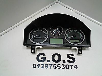 2004 - 2009 Land Rover Discovery 3 Instrument Cluster Dials Clocks Yac500023