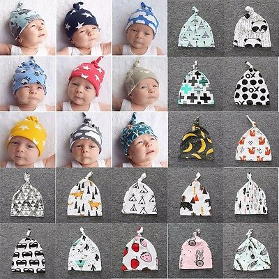 New Toddler Kids Girl&Boy Baby Infant Winter Warm Crochet Knit Hat Beanie Caps