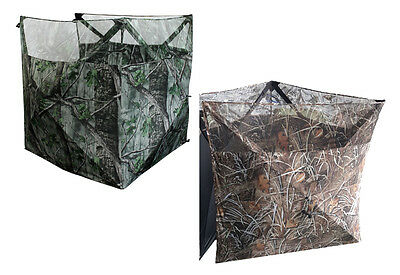 Pop Up Camo Blind Hide Net Hunting Pigeon Goose Shooting Decoying Photography