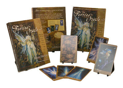 The Faeries' Oracle Cards Deck by Froud/Macbeth Faerie Goddess Magick Divination