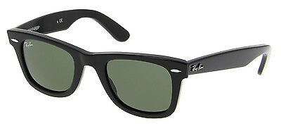 Ray Ban Original Wayfarer Rb 2140 901 54mm Black G-15xlt Large Sunglasses