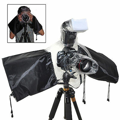 Rain Cover Waterproof Case Protector For DSLR Canon Nikon Olympus/Digital Camera