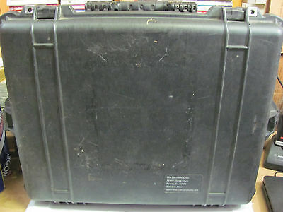 USED Travel Case For HME DX300 Football Communication Systems With Foam Inserts