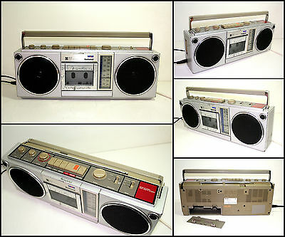 Vintage NATIONAL RX-4930 Radio Cassette Boombox (Made in Japan)