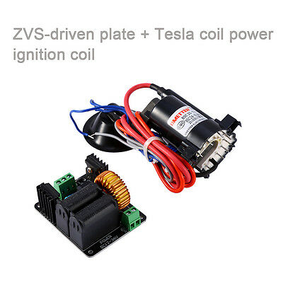 ZVS Tesla coil flyback driver/SGTC/Marx generator/Jacob's ladder+ignition coil