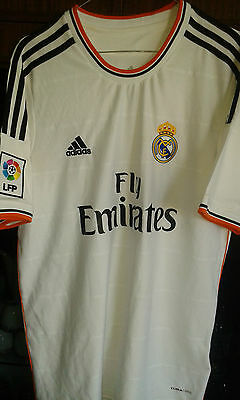 Real Madrid L  camiseta futbol football shirt