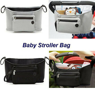 Drable Baby Car Bag Hanging Basket Cup Bottle Organizer Stroller Accessories