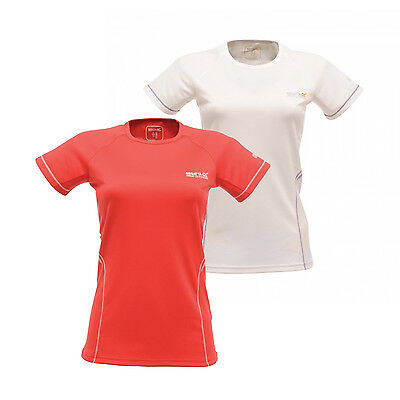 Regatta Presley Womens Wicking Sports Active Fit T-Shirt