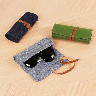 Stylish Sunglasses Soft Box Case Shell Eye Glasses Protector Pouch