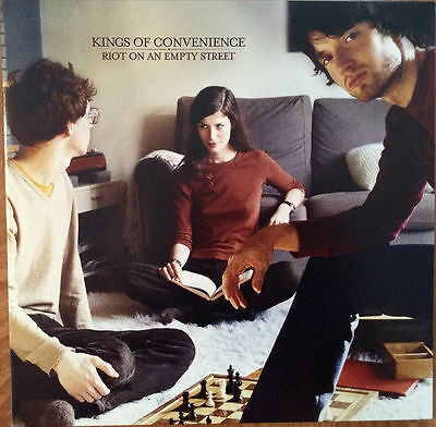 Lp Kings Of Convenience Riot On An Empty Street Vinyl