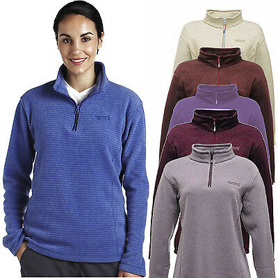 Regatta Embrace Womens Half Zip Mid-Weight Fleece Jacket