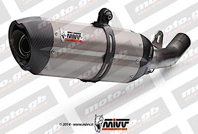 Bmw S1000 Xr Mivv Suono Stainless High Level Slip-On Exhaust *promo*in Stock*