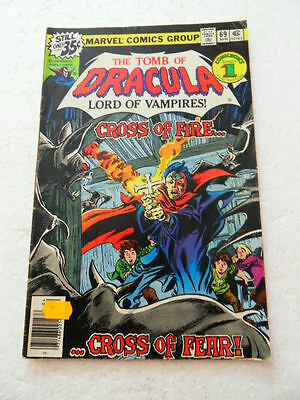 Tomb of Dracula 69 . Marvel 1979 .  VG