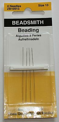 Beading Needles English Made - Size 13