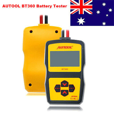 AUTOOL BT360 12V Vehicle Charging System Diagnostic Tool Battery Tester AU Stock