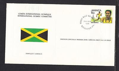 Jamaica Scott 489 FDC - Olympic Games, Moscow