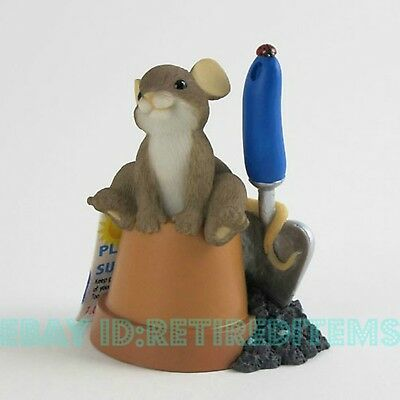 MEMBERS ONLY Ready To Grow With You CHARMING TAILS Figurine Leaf & Acorn Enesco