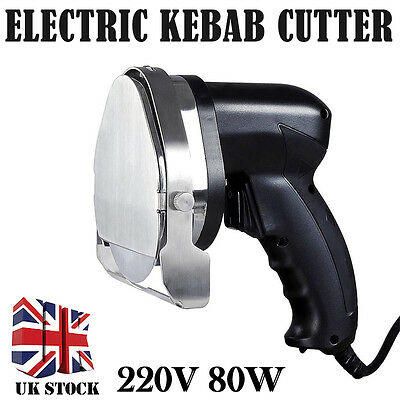 Electric Doner Donner Kebab Meat Cutter Slicer Carver Machine Knife Blade 220V