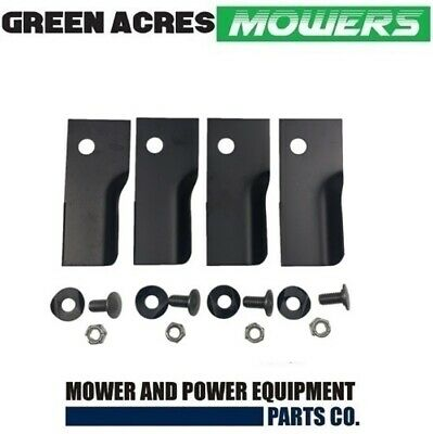 Heavy Duty Blade Kit For Rover Mowers Xht Harderned Blades A03830
