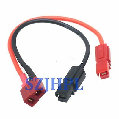 Product Powerpole 45A to RC T-plug female DC Power Supply Cable 16AWG 15CM