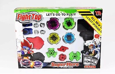 Fight Master Beyblade Metal Fusion 4d Lancer Gift  toy  For Young Children