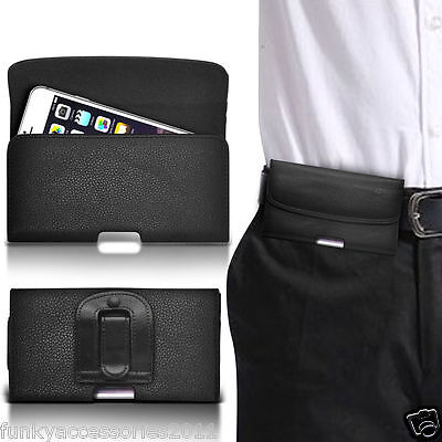Belt Clip Pouch Holster Horizontal Magnetic Flip Case Cover Holder✔Lenovo