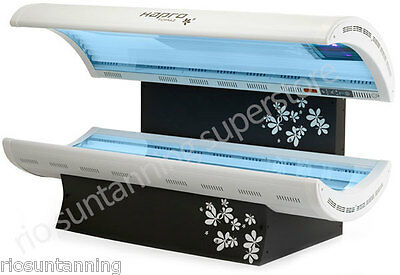 Sunbed Double Unit 24 Philips Advantage Tube Model With 400Watt Facial Tanner