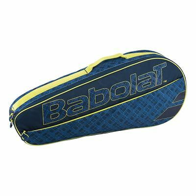 Yellow Babolat Clubline 3 Racket Tennis Bag , Ideal For Travel , Padel Tennis