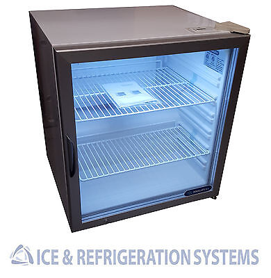 Metalfrio Commercial Countertop Glass Door Refrigerator Cooler Merchandiser Ctc3