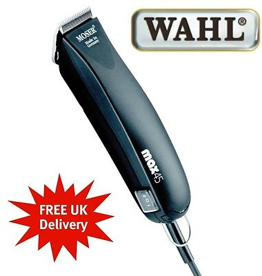 WAHL MAX 45 TRIMMER SET - Professional Dog Grooming Clippers Free P & P