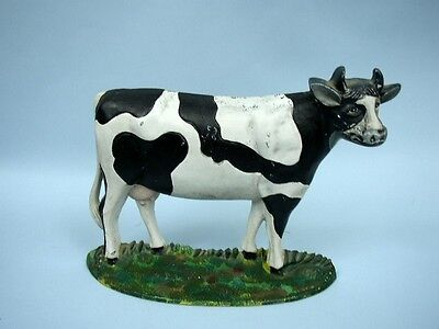Cast Iron Guernsey Cow Door Stop