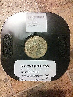 "Band Saw Blade Coil Stock 100' 1/4"" 18tpi  FREE SHIPPING!"