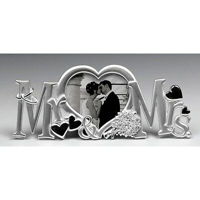 Mr and Mrs Letter Message photo frame - shudehill