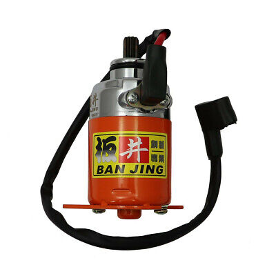 150cc BAN JING HIGH TORQUE STARTER MOTOR FOR 150cc GY6 CHINESE SCOOTERS AND ATVS