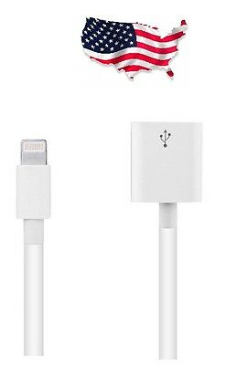 Z4Z 8 Pin Lightning Extension Cable for iPod iPhone 6 6s 6+ plus iPad 4 mini W